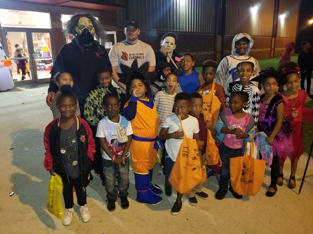 Halloween Event with Bayou Lacombe Cardinals